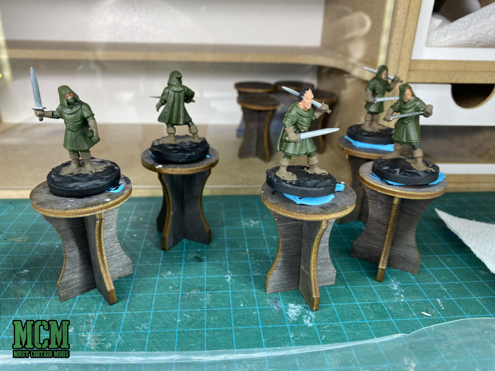 Painting up some elf infantry - Tutorial
