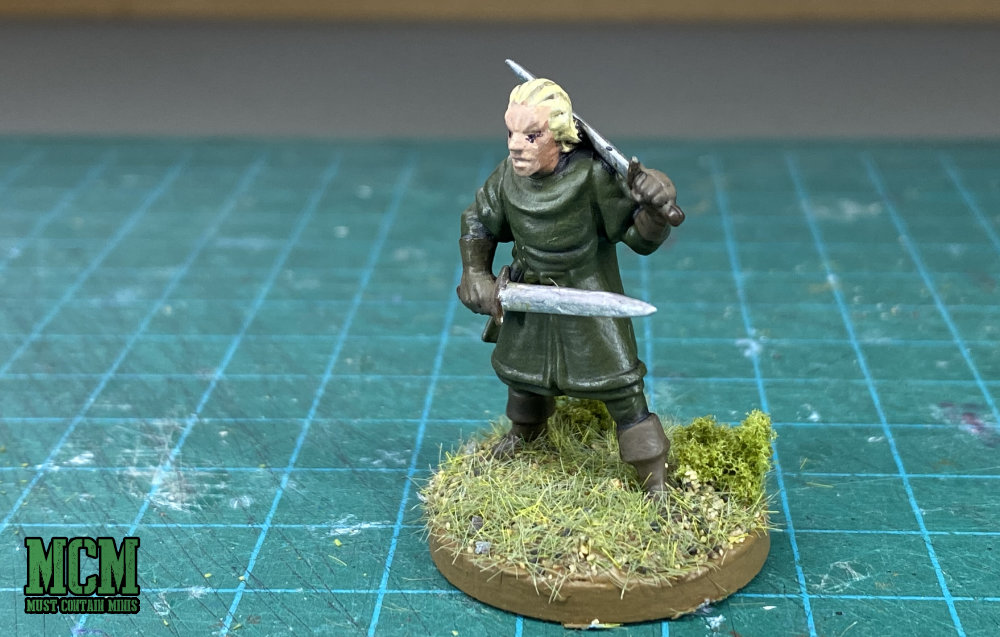 Two sword Warrior for Roleplaying Games