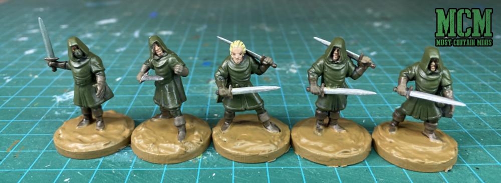 Oathmark Light Elf Infantry Front