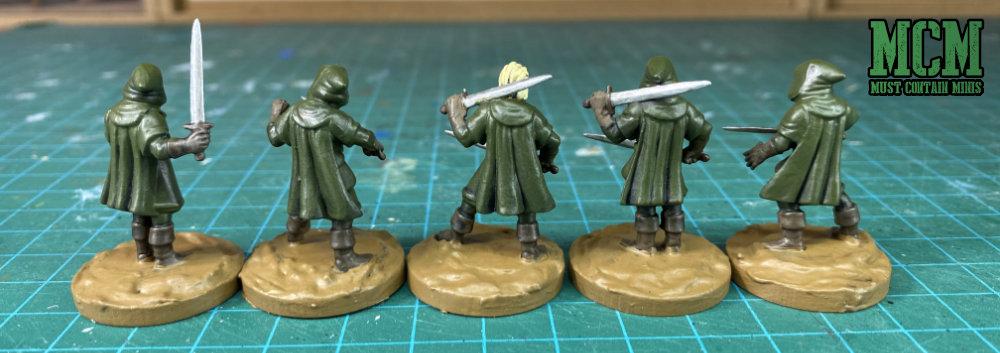 Oathmark Light Elf Infantry Back