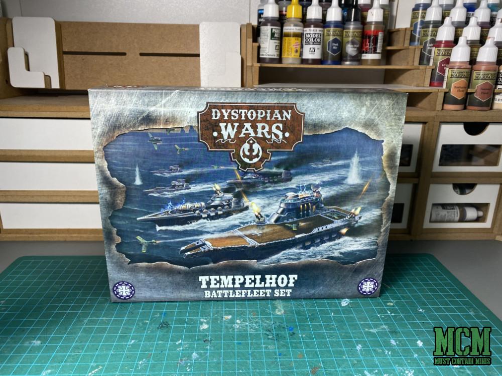 Tempelhof Battlefleet Box Art