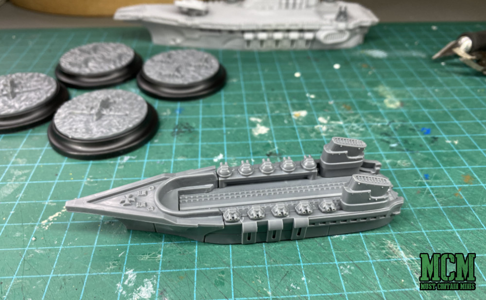 Building Imperial Ships for Dystopian Wars