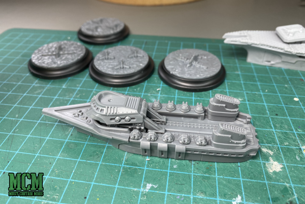Changing out the load out of an imperial ship in Dystopian Wars
