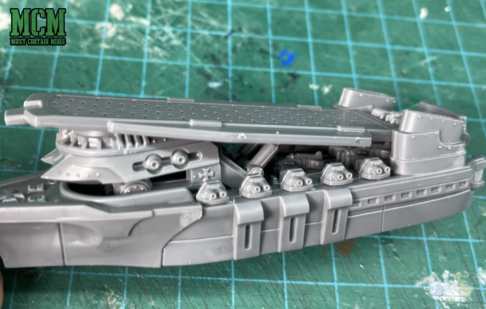 A look at the detail levels on Dystopian Wars miniatures by Warcradle Studios. Specifically, a miniature from the Tempelhof Battlefleet.