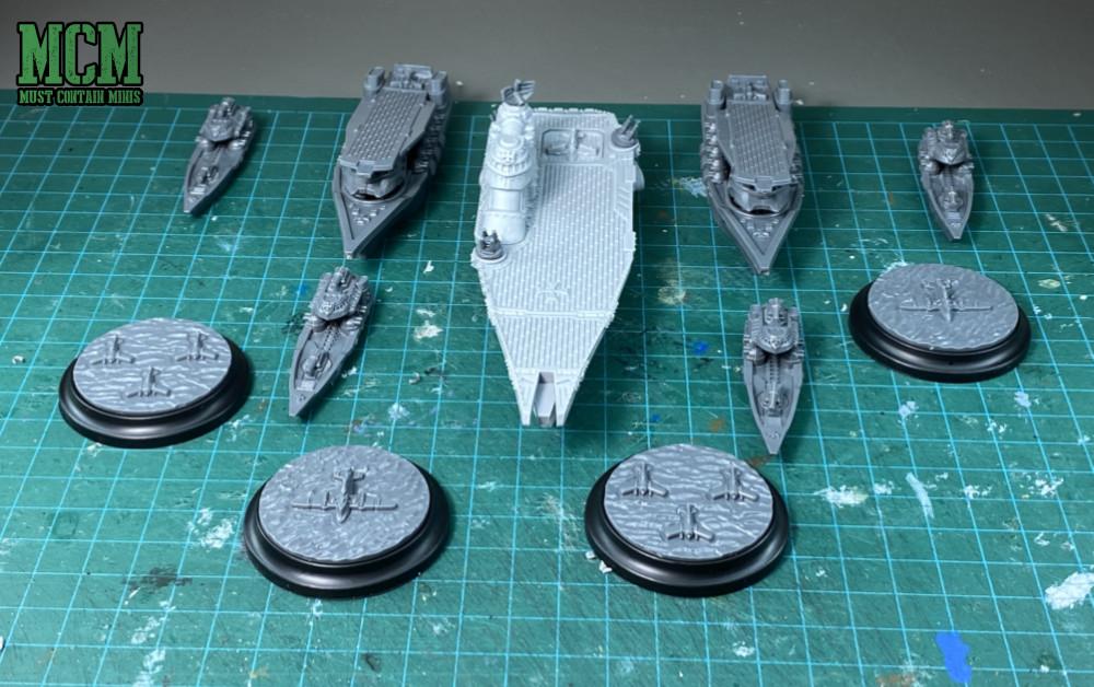 The Tempelhof Battlefleet