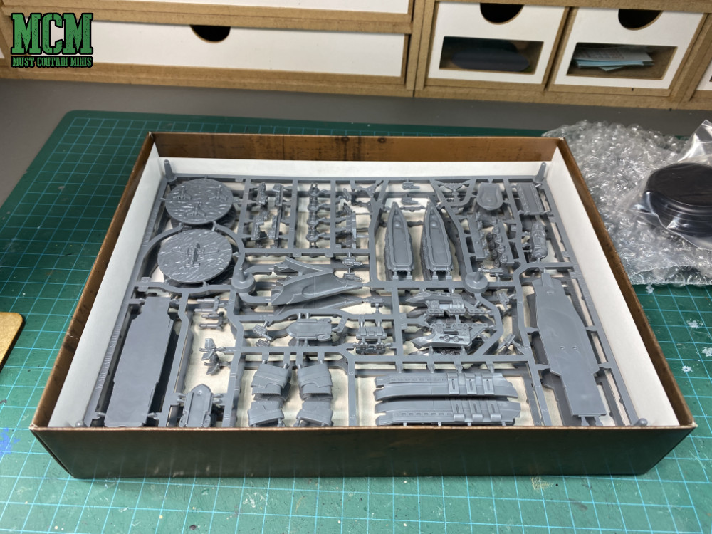 Plastic frames for Prussian support ships