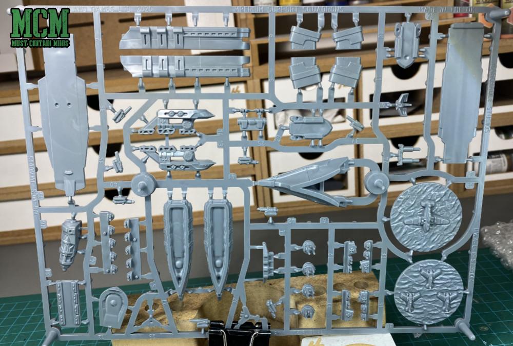 Tempelhof Battlefleet Plastic Frame back
