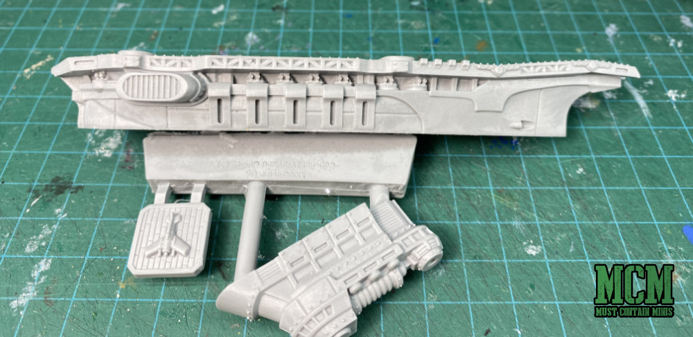 Resin Carrier Parts - Dystopian Wars