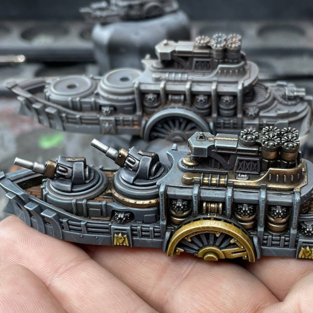 Union Cruisers for Dystopian Wars
