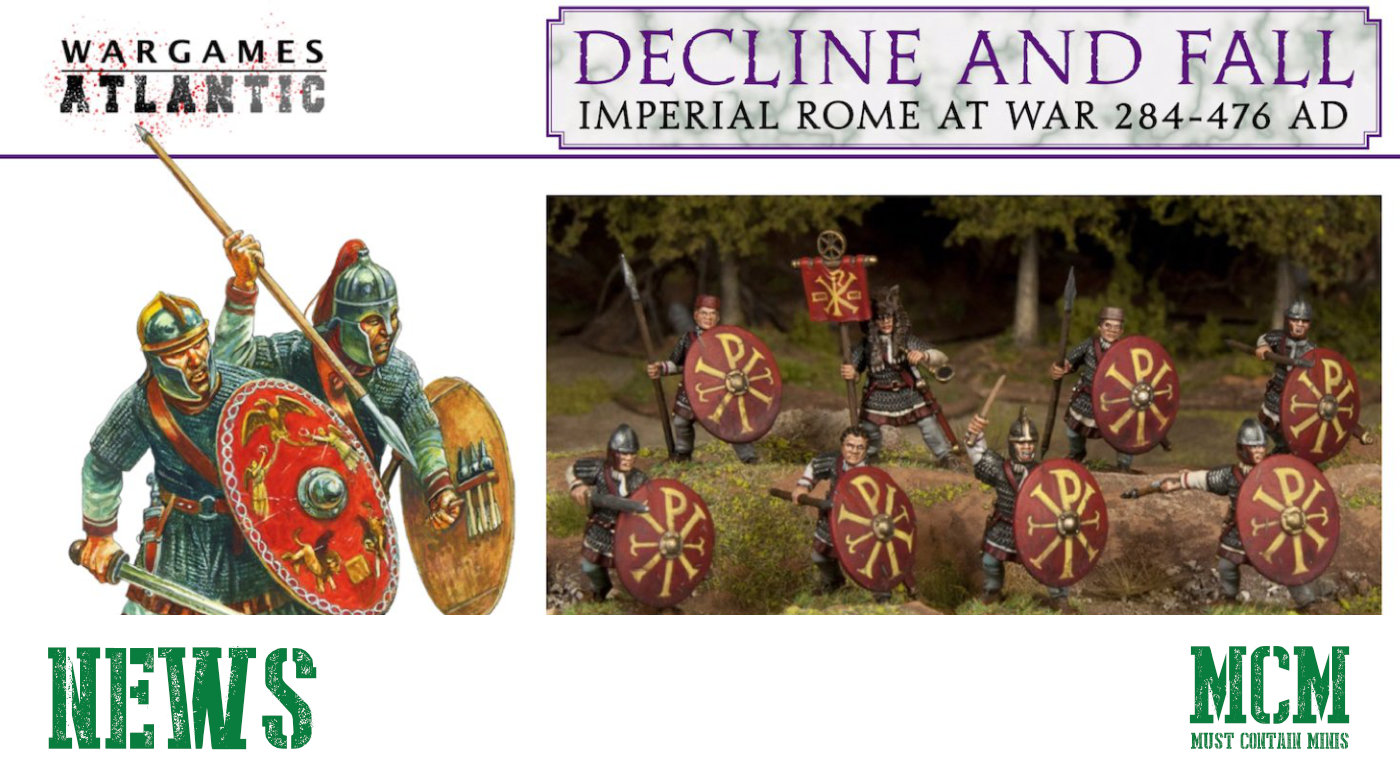 You are currently viewing Wargames Atlantic Previews New Roman Miniatures