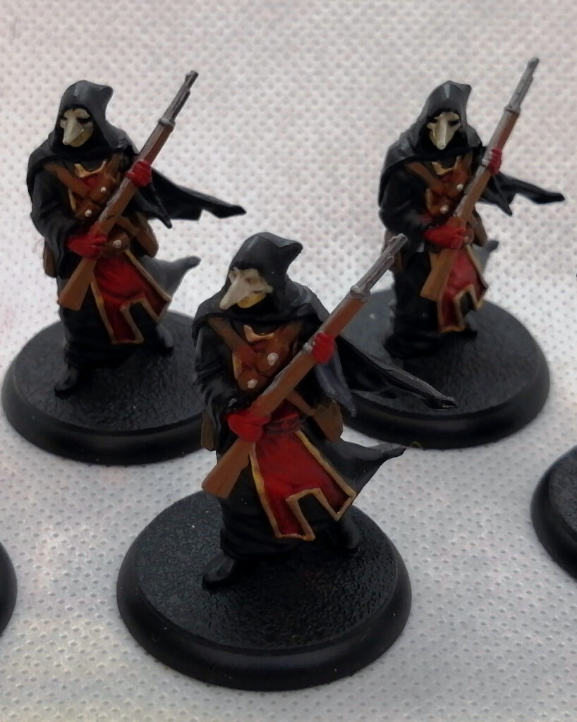 Painted Miniatures - Flying Frog Productions