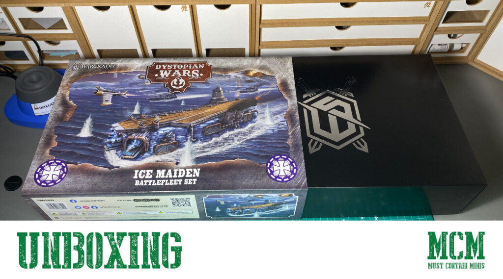 Unboxing the Ice Maiden for Dystopian Wars