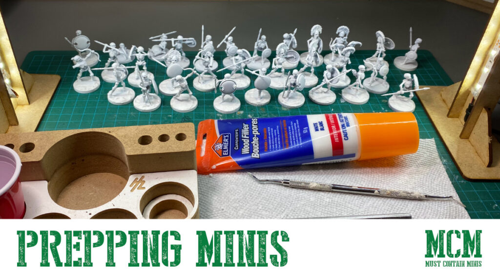 How to Prep Plastic Miniatures for Painting