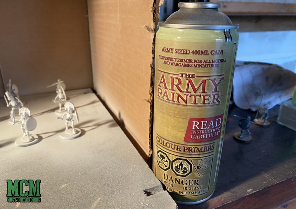 Make sure to read the directions of the primer when you use it to prime your miniatures.