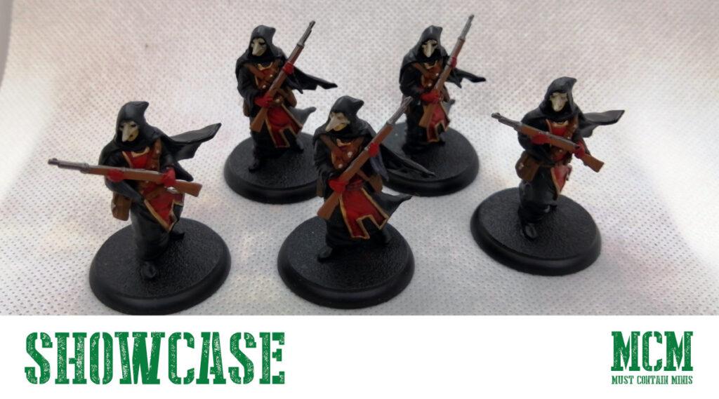 Masked Shadows of Brimstone Miniatures