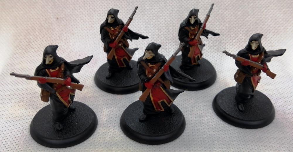 Shadows of Brimstone Masked Miniatures