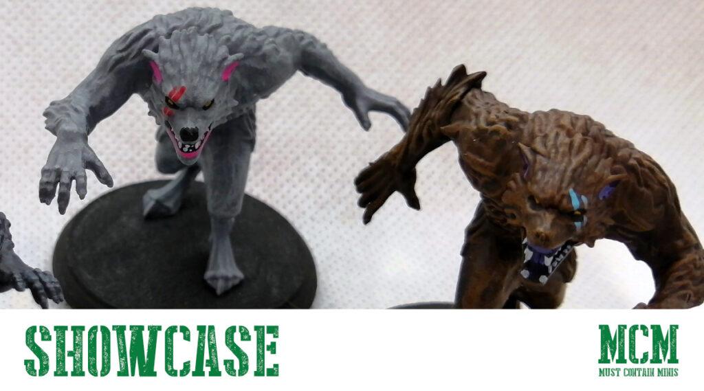 Painted Werewolves in Shadows of Brimstone
