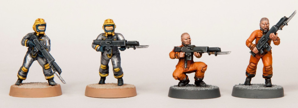 Guard Proxies - Space Suits and Penal Squads