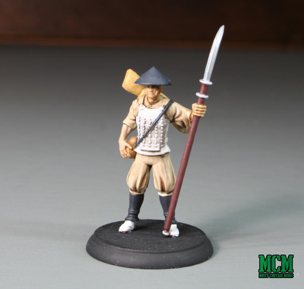 Ashigaru Conscripts for Shadows of Brimstone