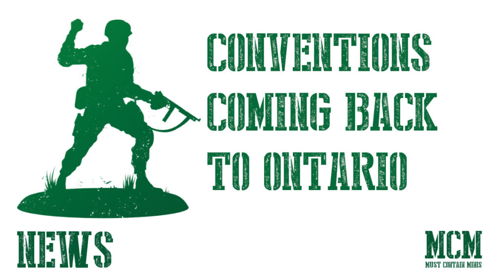 Ontario Has A Gaming Convention – Sept 25, 2021!