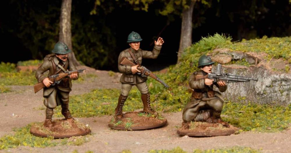 28mm WW1 French Miniatures