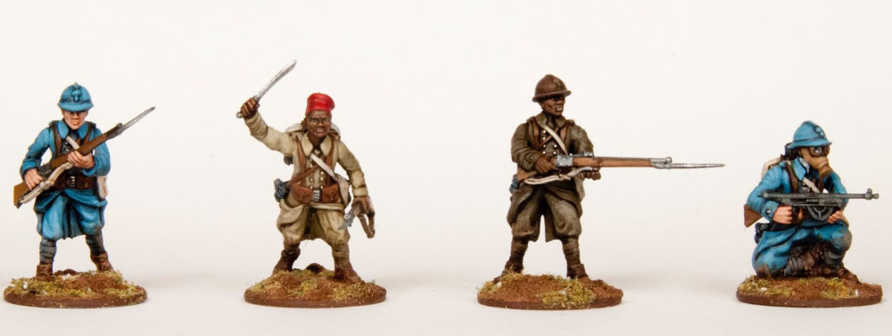 28mm French Miniatures for World War One