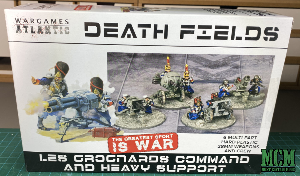 Review of Les Grognards Command and Heavy Support Boxed Set - Box Art