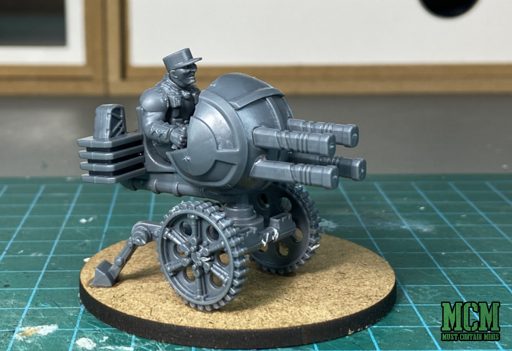 Les Grognards Command and Heavy Support Weapons - Quad Ball Gun - AKA Proxy Heavy Bolter