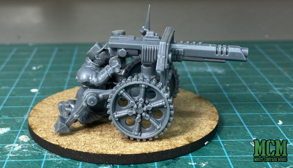 Les Grognards Command and Heavy Support Miniatures - Plasma Weapon, AKA Lascannon