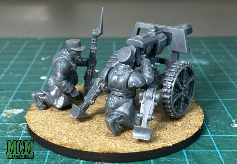 Proxy lascannon for astra militarum - Imperial Guard - Command and Heavy Support
