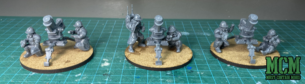 Proxy Mortar Teams for Warhammer 40K - Imperial Guard