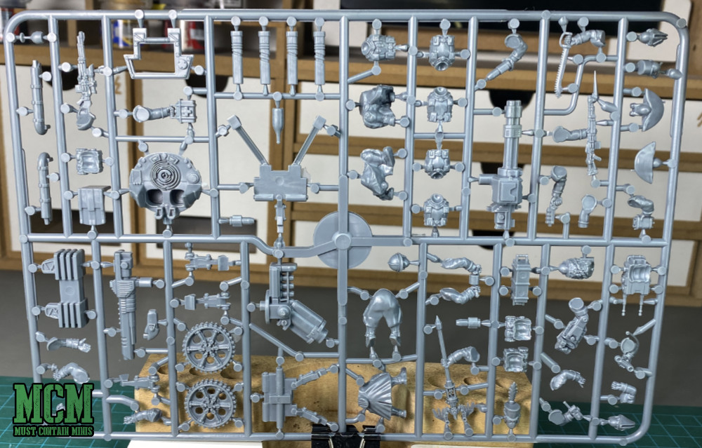 Les Grognards Command and Heavy Support Boxed Set - Sprue - Les Grognards Weapons Teams