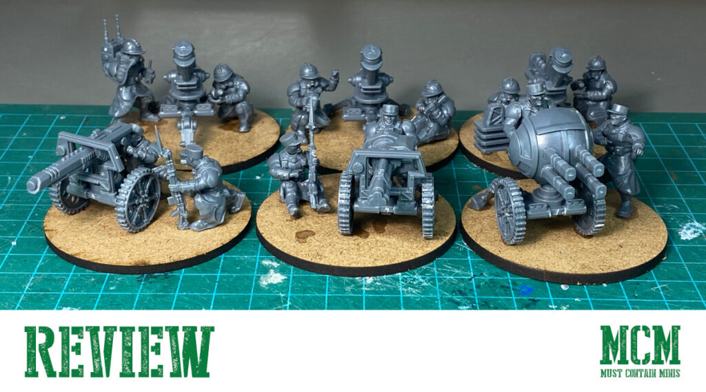 Les Grognards Command and Heavy Support Review