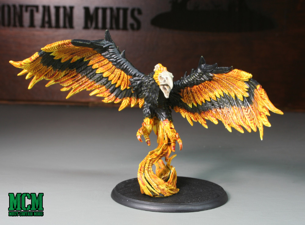 A Painted board game miniature