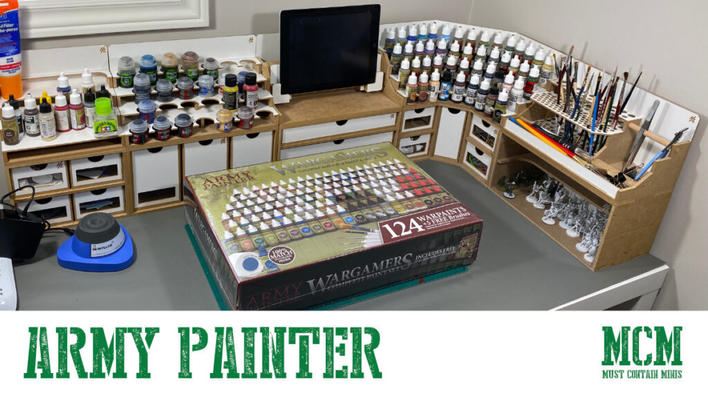 The Army Painter Paints Take Over MCM Desk