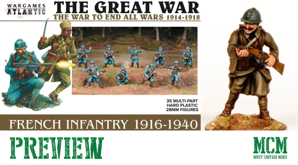 Wargames Atlantic Brings French to WW1 & WW2