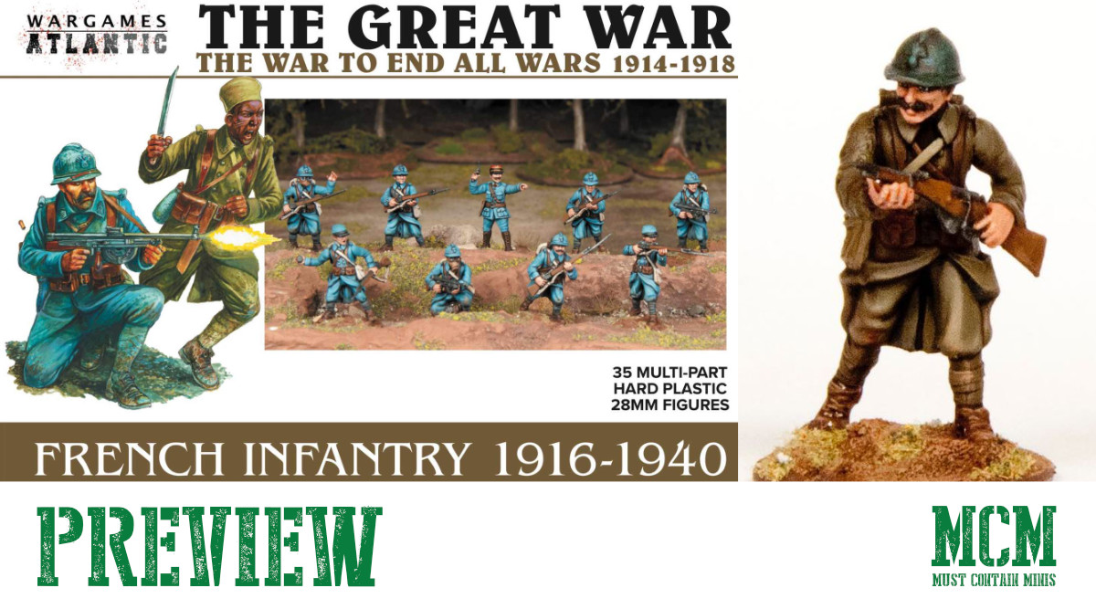 You are currently viewing Wargames Atlantic Brings French to WW1 & WW2