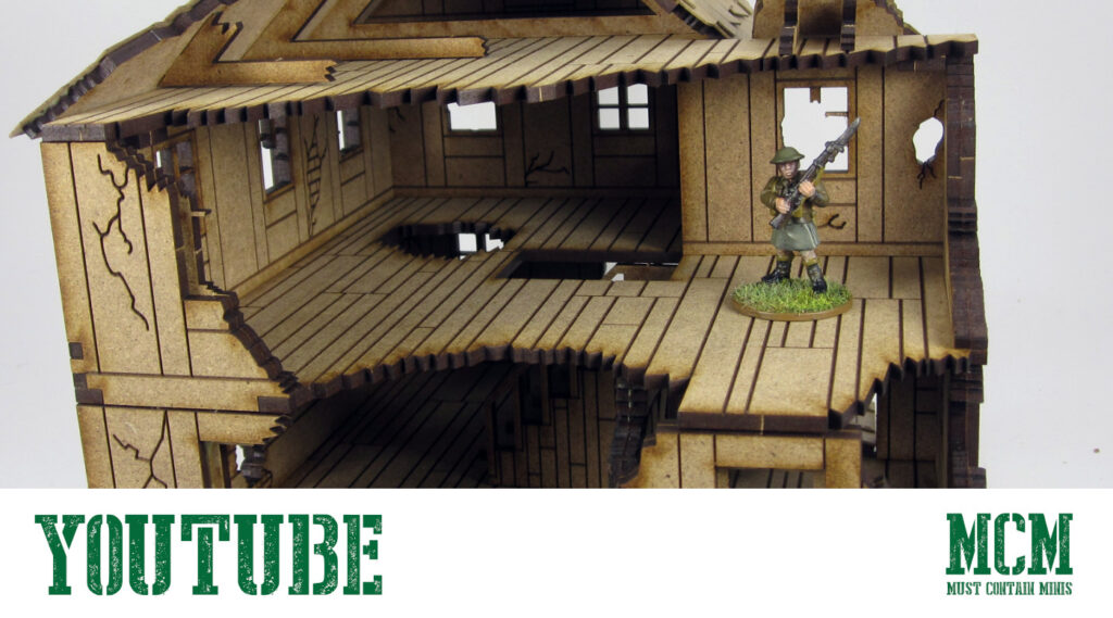 28mm Ruins Terrain Review on YouTube – MDF by XOLK