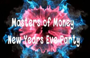 Masters of Money New Years Eve Party Graphic