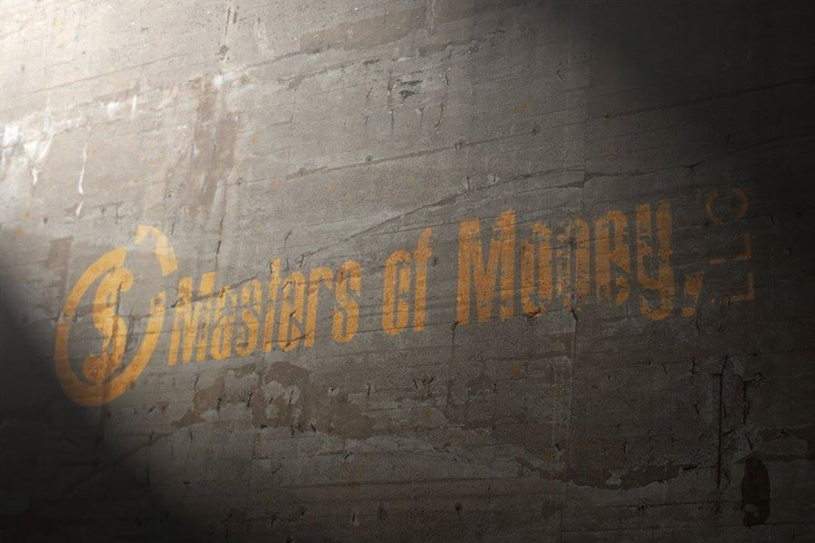 Masters of Money LLC Logo Painted On Wall Photo