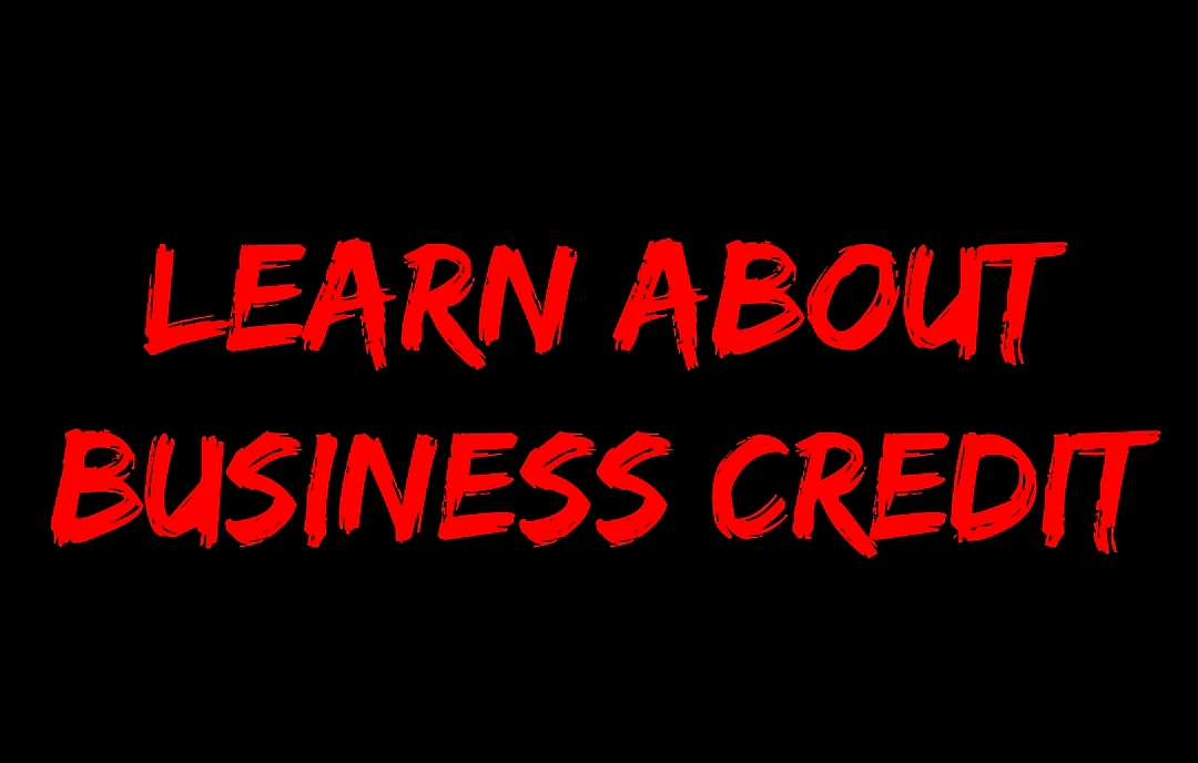 LEARN ABOUT BUSINESS CREDIT GRAPHIC