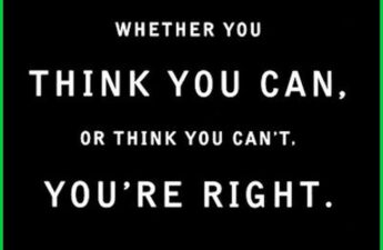 Masters of Money LLC Whether You Think You or You Think You Can't You're Right. Quote Picture