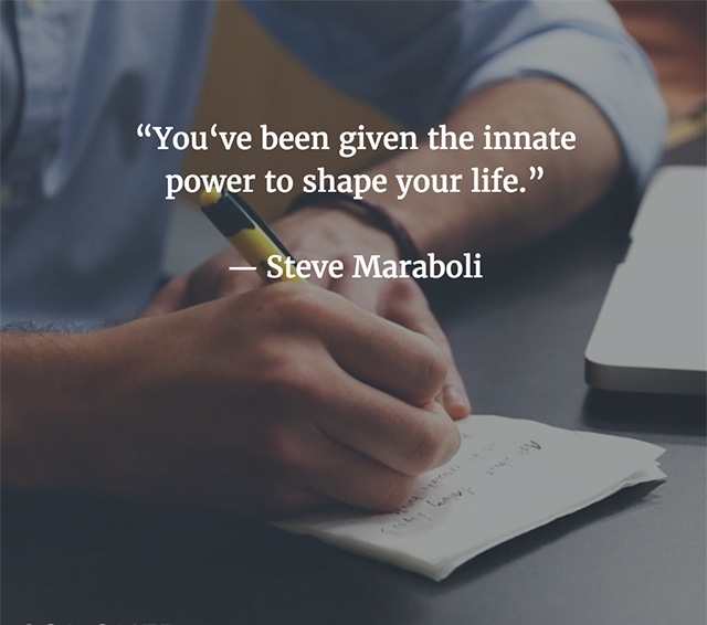 Masters of Money LLC The Power To Shape Your Life Picture Quote