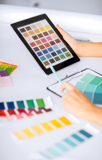 Design Resources color palette