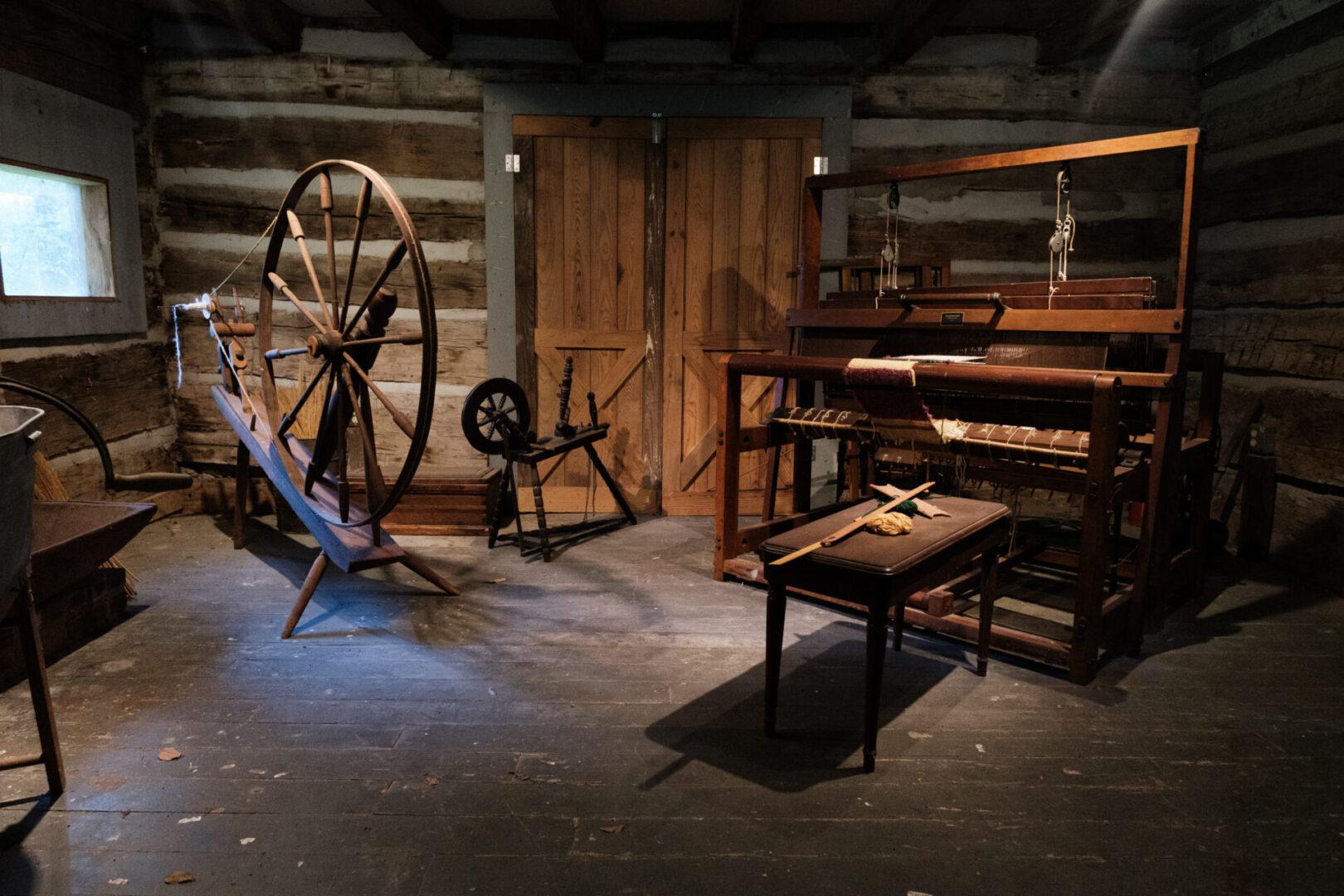 Loom Room Shot