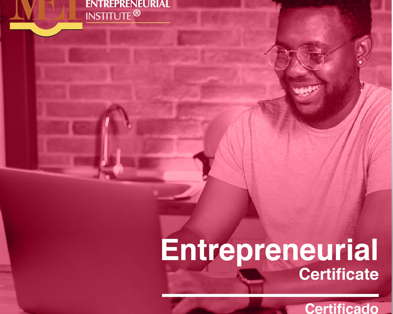 Entrepreneurial Certificate Flyer