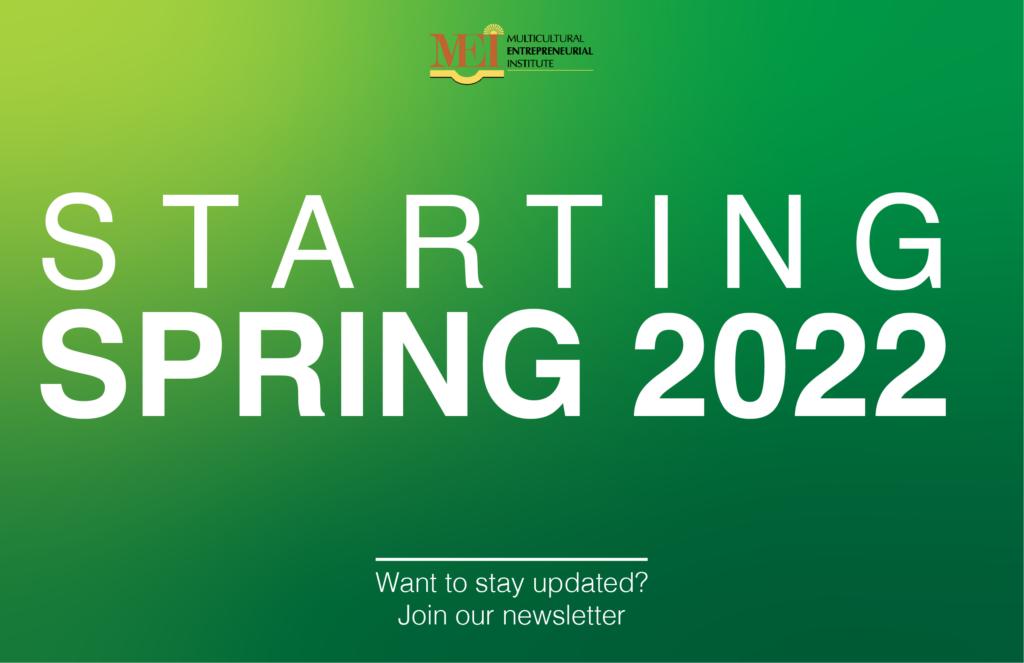 starting spring 2022