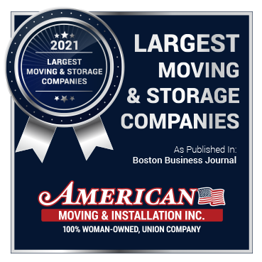 Named One of the Largest Moving and Storage Companies for the Second Year in a Row!