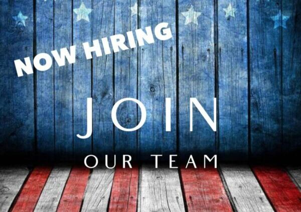 Now Hiring… Join Our Team!