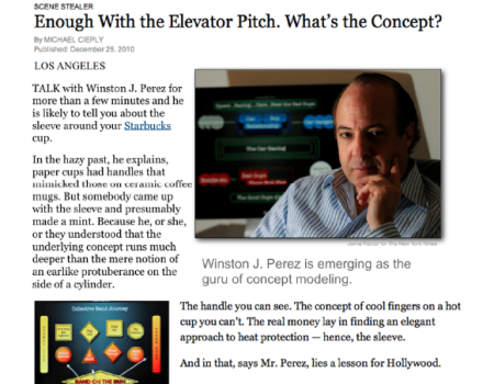 NY TIMES ARTICLE WINSTON & CONCEPT MODELING